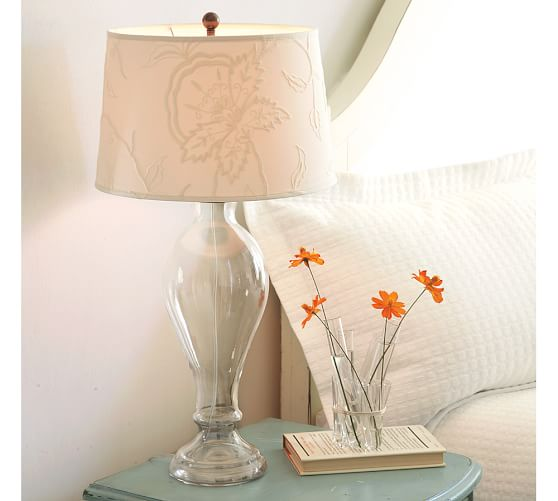 Briana Glass Table Lamp Base