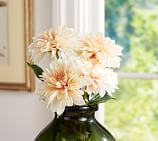 Faux Dahlia Stem, Peach