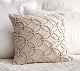 Embellished Bedded Rings Pillow Covers, 18