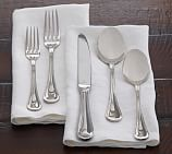 Katherine Stainless Steel Flatware, Mirror Finish, 5-Piece Place Setting