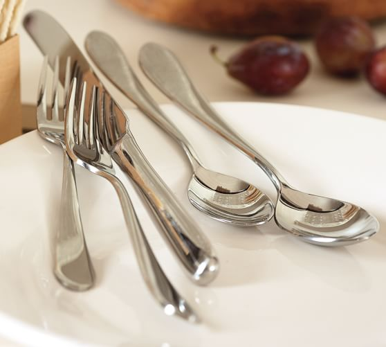 Classic Flatware, 5-Piece Place Setting