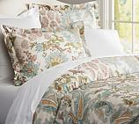 Reza Palampore Duvet Cover, Twin, Ivory