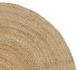 Round Jute Rug Swatch, Natural