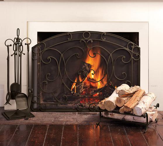 Aspen Fireplace Single Screen