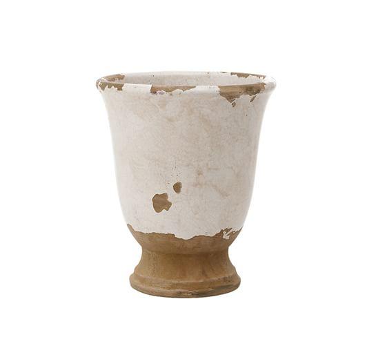 Tuscan Terra Cotta Vase, Cachepot