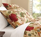 Wells Palampore Duvet Cover, King/Cal. King, Ivory