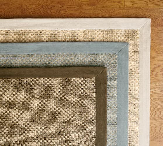 Chenille Jute Basketweave Rug Swatch, Natural