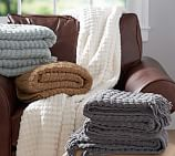 Chenille Basketweave Throw 50x70