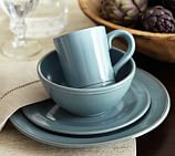 Isabella Dinnerware, 16-Piece Soup Bowl Set, Blue