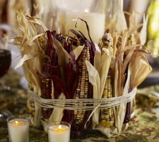 Mini Indian Corn Vase Filler