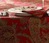 Caroline Paisley Table Runner, 18 x 108