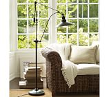 Glendale Pulley Task Floor Lamp, Bronze Finish