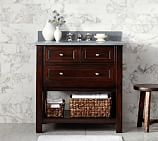 Classic Single Sink Console Base only, Espresso Finish
