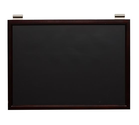 Daily System Chalkboard, Espresso stain