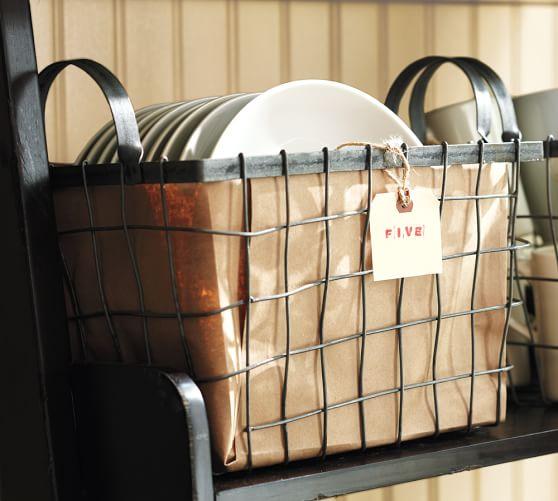 Wire Utility Basket