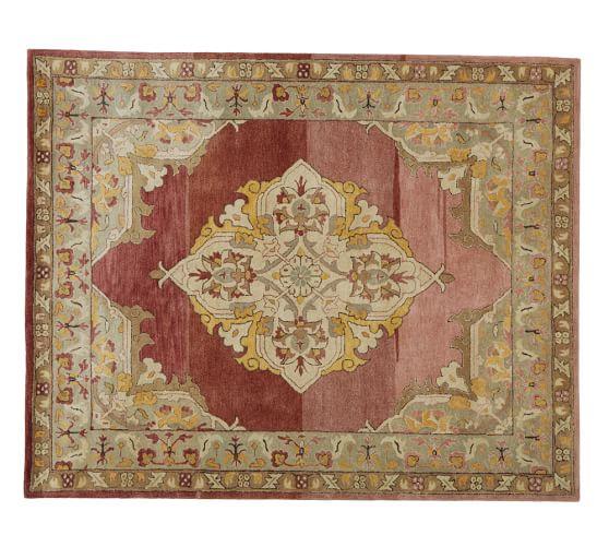 Chloe Persian-Style Guntufted Wool Rug, 3x5'