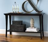 Metropolitan Console Table, Black