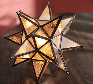Moravian Star Ambient Light Pottery Barn
