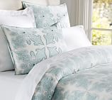 Aiden Medallion Duvet Cover, Twin, Blue