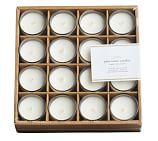 PB Filled Glass Votive Candle, Set of 16, Ivory