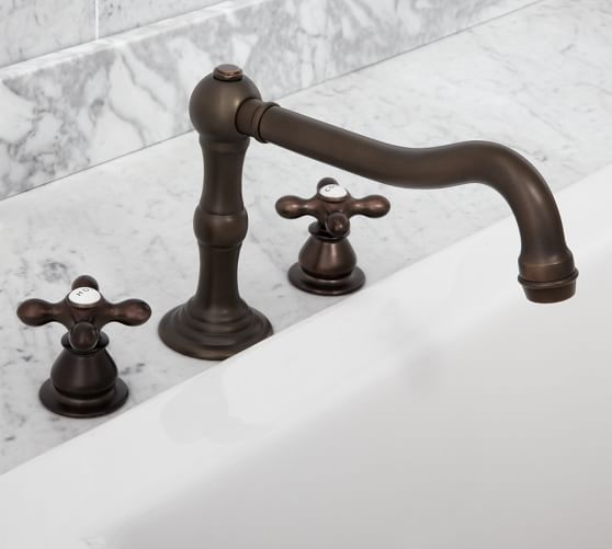Langford Roman Tub Faucet, Antique Bronze Finish