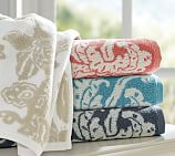 Robyn Palampore Jacquard Hand Towel, Ivory