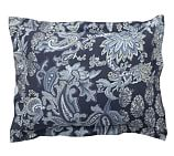 Reza Palampore Sham, Standard, Midnight Blue