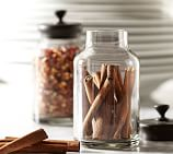 Single Glass Spice Jar with Bronze finish Lid