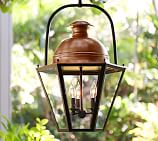 Case Oversized Pendant, Bronze & Antique Copper finish