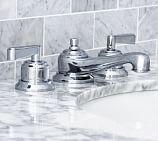 Covington Lever-Handle Widespread Bathroom Faucet, Chrome Finish