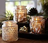 Harvest Eclectic Mercury Jars, Set of 3