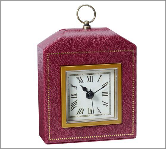 Abott Alarm Clock, Red