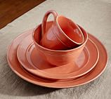 Cambria Dinnerware, 16-Piece Soup Bowl Set, Persimmon