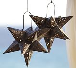 Metal Star Luminary, Bronze finish
