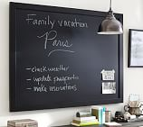 "Framed Chalkboard, 36 x 24"", Black"