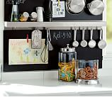 Utility Shelf with Hooks