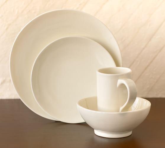 Studio Dinnerware, 16-Piece Set, Cream