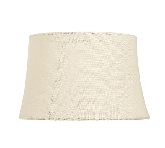 home search results burlap tapered drum lamp shade medium bleached. Black Bedroom Furniture Sets. Home Design Ideas