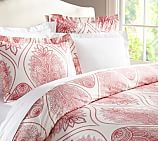 Cassidy Medallion Duvet Cover, Twin, Chutney