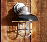 Avalon Indoor/Outdoor Sconce, Black