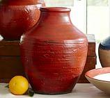 Lakeside Medium Vase, Red
