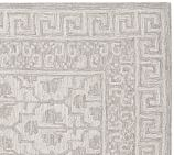 Braylin Tufted Wool Rug Swatch, Gray