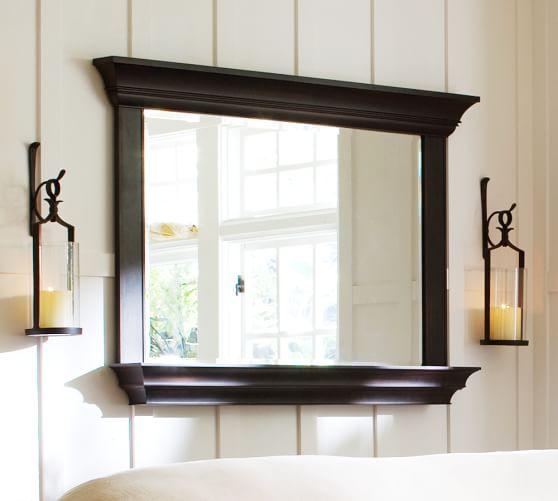 Henley Mirror with Shelf