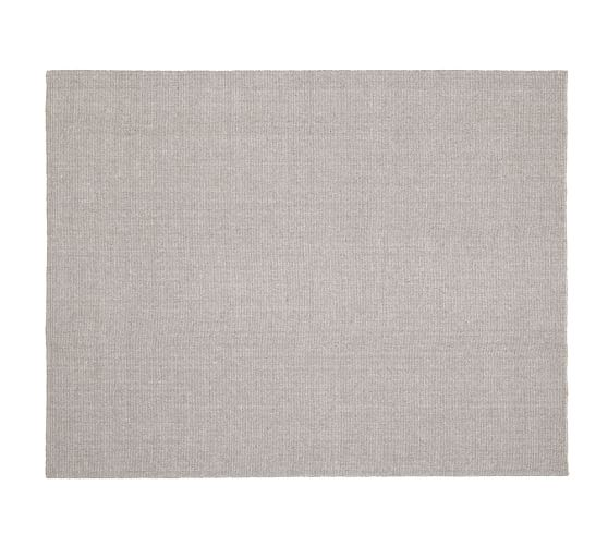 Somers Woold & Jute Rug, 3x5', Natural