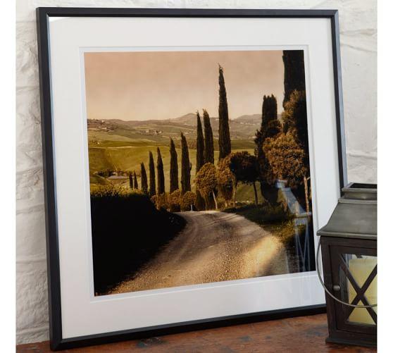 Elizabeth Carmel, Country Lane, Val'd'orcia Region, Tuscany 2004