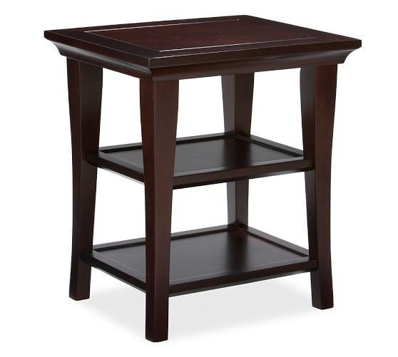 Metropolitan Side Table, Espresso stain