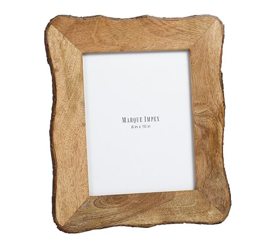 Tye Mill Bark Rim Picture Frame, 8 x 10