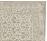 Braylin Tufted Wool Rug Swatch, Ivory