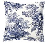 Matine Toile Sham, Euro, Twilight Blue