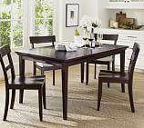 Metropolitan Extending Dining Table, Espresso
